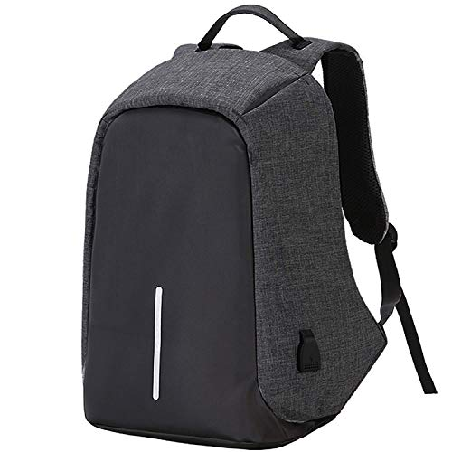andride-anti-theft-backpack-waterproof-business-laptop-bag-with-usb-charging-port-for-14-inch-laptop-notebook-camera-and-mobile-grey