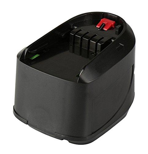 Galleria fotografica Mitsuru® Batteria 3000mAh Li-Ion 14,4V per Bosch PSR 14.4V LI / PSR 14.4V LI-2 / sostituisce Bosch 2607335038, 2607336037, 2607336038, 2607336194, 2607336206