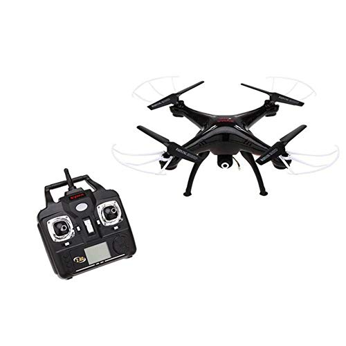SILENTLY Luftdrohnen Vierachsigen Flugzeuge, Die Echtzeitübertragung Mit Kamera WiFi, Quadcopter/HD Antenne Drohne/Kinderspielzeug Flugzeug,Schwarz