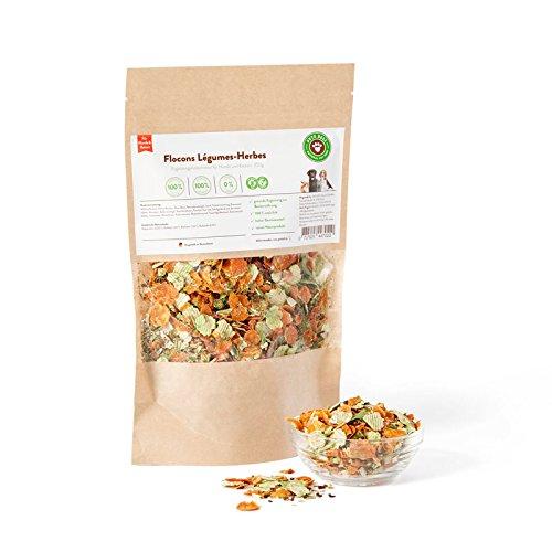 Nahrungsergänzung für Hunde und Katzen, Gemüse-Kräuter-Flocken 250g für Hunde | PETS DELI | Gesunde Hundenahrung, Mineralstoffreich, rein natürliche Inhaltsstoffe - 2