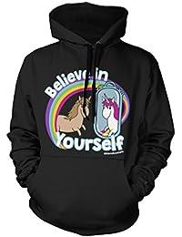 David and Goliath Believe Unisex Fit Hooded Sweatshirt