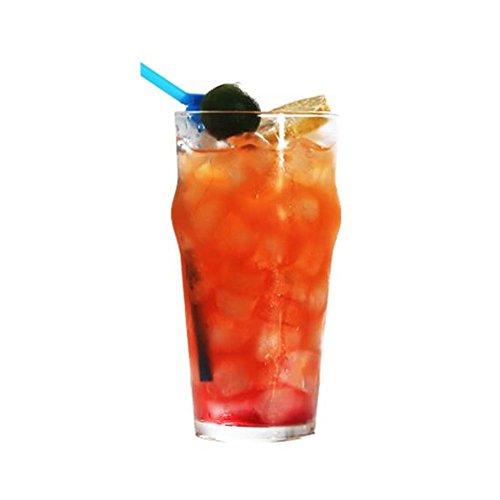 Black Temptation Elegante Goblet Party Gläser Heavy Base Saft Gläser Trinken Wein Cups, A 6
