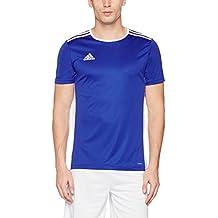 adidas Entrada 18 Jsy Camiseta, Hombre, Azul (Azufue/Blanco), S