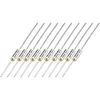 Fusible termico - TOOGOO(R)10 piezas 250V 10A TF 120 grados centigrados Temperatura de puntos de corte Fusible termico