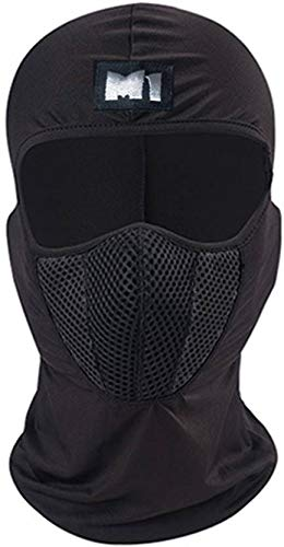 Mra Fashion Full Face Dust Proof Mask For Bike/Cycle Balaclava for Men & Women Black (Size: Free, 1 Piece)
