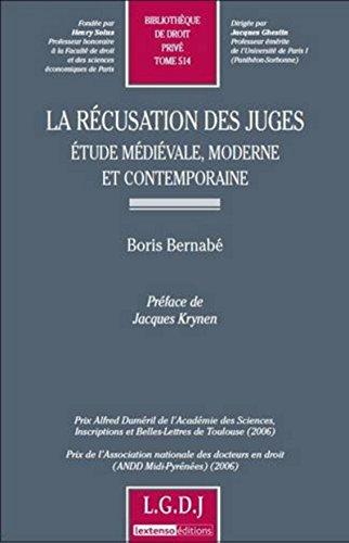 la-rcusation-des-juges-etude-mdivale-moderne-et-contemporaine-tome-514