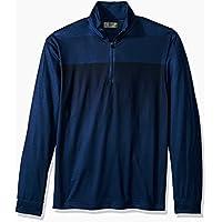 PGA TOUR Men's Elements Long Sleeve 1/4 Zip Pullover, Peacoat_PVKF70E7, XL