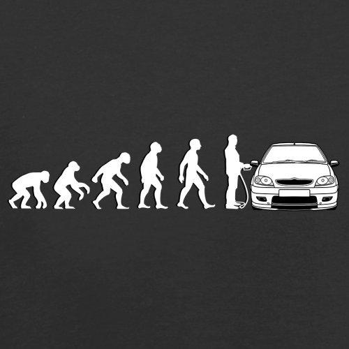 Evolution of Man - Saxo Fahrer - Herren T-Shirt - 13 Farben Schwarz