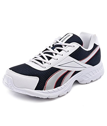 Reebok Men's Acciomax LP Blue, White and Red Running Shoes - 8 UK