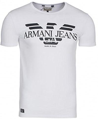 Chemise Homme Armani - Armani Jeans - T Shirt Manches COURTES