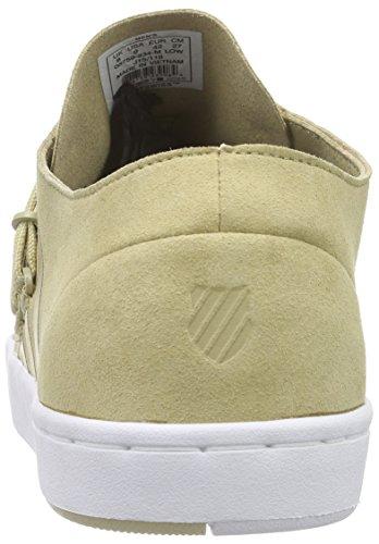 K-Swiss D R Cinch Lo, Baskets Basses homme Vert - Grün (Khaki/white 234)