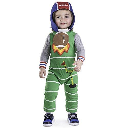 Fußball Für Kostüm Kleinkind - Dress Up America Säugling Fußball Kostüm