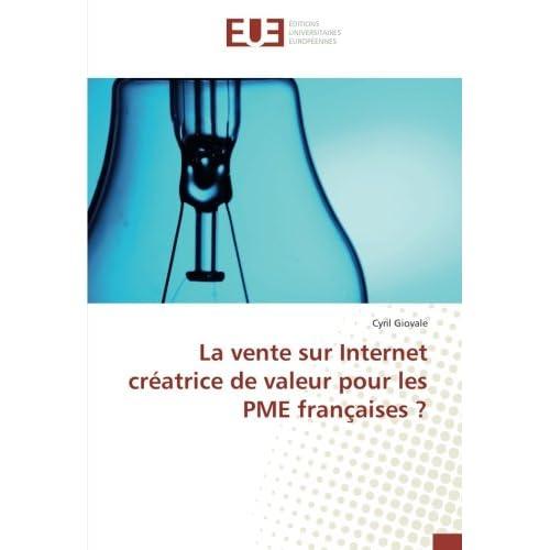 La vente sur Internet créatrice de valeur pour les PME françaises ?