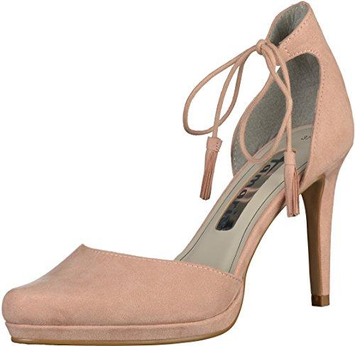 Tamaris1-1-24427-36 521 - Scarpe con Tacco Donna Rosa