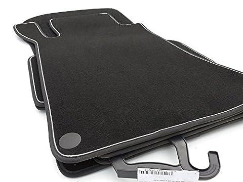 kh Teile Fußmatten / Velours Automatten Premium Qualität Stoffmatten 4-teilig