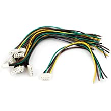 Sourcingmap a14042600ux0146 - 10pcs cargador del balance jst macho 14.8v 4s batería lipo cable de carga