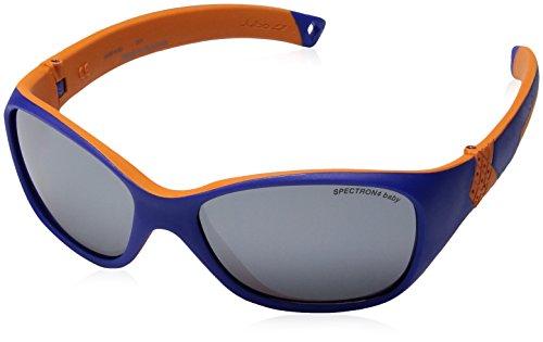 Julbo Solan Sonnenbrille Kinder, Kinder, J3901212, blau/orange, 4-6 Jahre