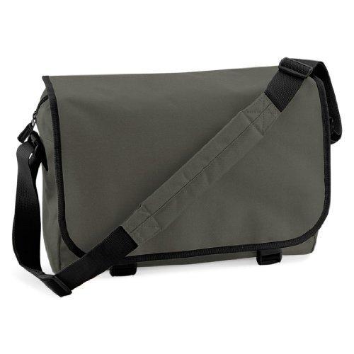 Shirtstown Messenger Bag, Umhängetasche, Schultertasche, Retro, Tasche, Farbe braun olivegreen