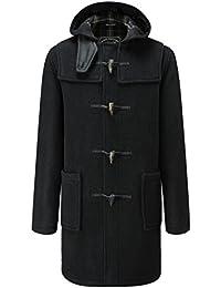 Amazon.fr   Cuir - Duffle coat   Manteaux et blousons   Homme ... 6919d3e40b76