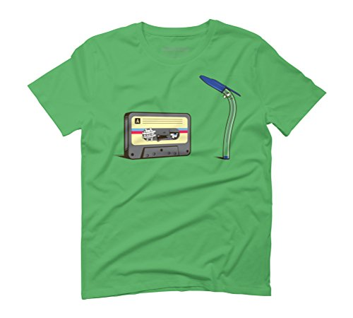 Good old times Men's Graphic T-Shirt - Design By Humans Green