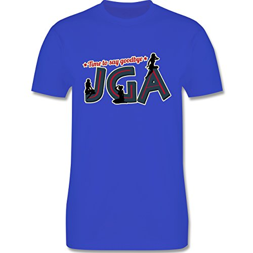 JGA Junggesellenabschied - JGA PinUp Girls - Herren Premium T-Shirt Royalblau