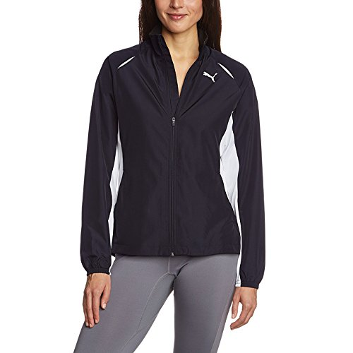 TB Puma Veste de course Warm Up Jacket W bleu marine