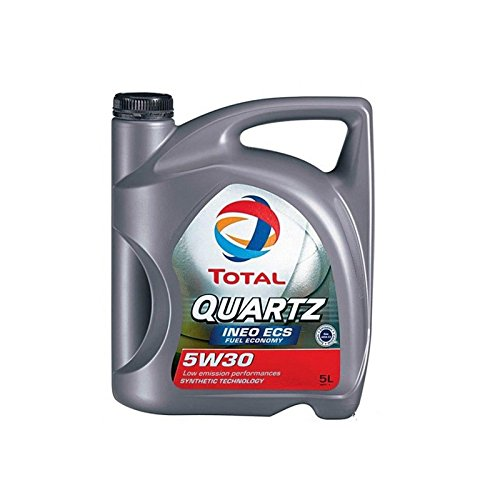 Lubrificante Total Quartz Ineo ECS 5W305 L, Olio Motore Sintetico Filtro anti-particolato