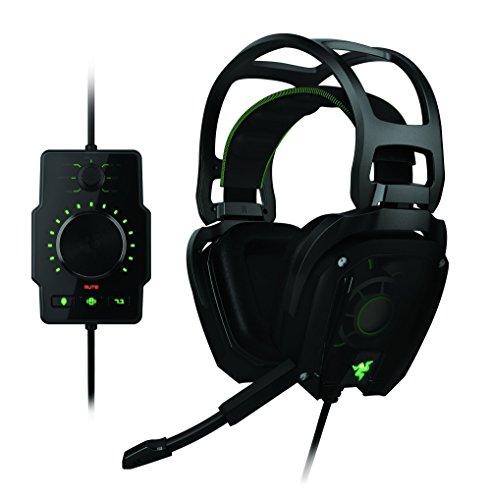 Razer Tiamat 7.1 Gaming Headset (Surround Gaming Headset mit Surround Sound, maximalem Komfort und Anpassung) schwarz (Razor Surround-sound)