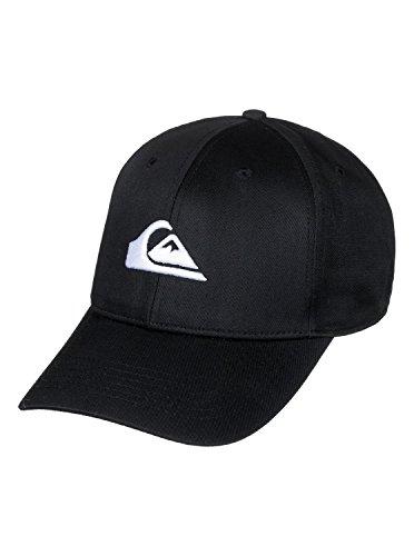 QUIKSILVER Herren Decades Baseball Cap, Schwarz (Black KVJ0), One Size (Herstellergröße: Única)