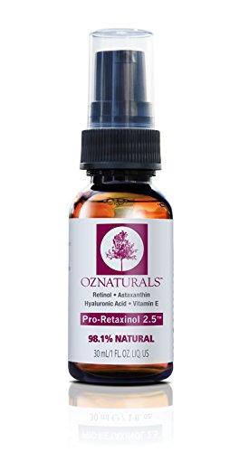 OZ Naturals Sérum Anti-Age Retinol - Le Sérum Anti-Rides Le Plus Efficace Contient De La Retinol + Astaxanthine + Vitamine E
