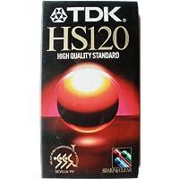 TDK E120HS cintas en blanco