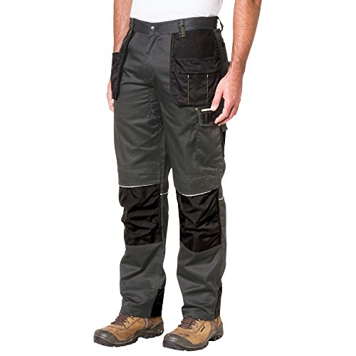 Caterpillar CAT Skilled Ops Work Trouser Dark Shadow Black - W36 / L34