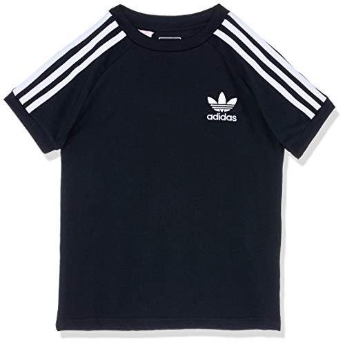 Adidas - J clfrn -T-shirt - Mixte Enfant - Noir (blanc) - 152