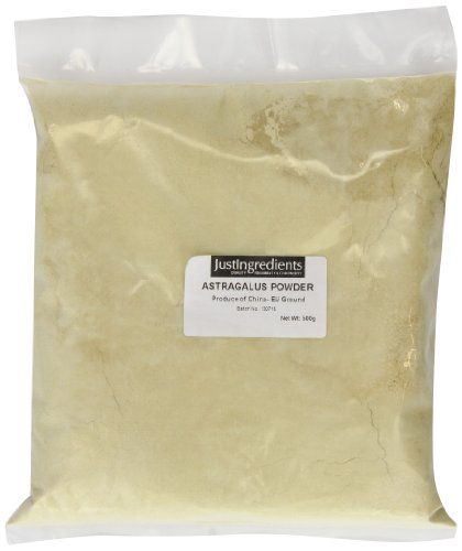 JustIngredients Tragantwurzel Pulver, Astragalus Root Powder, 1er Pack (1 x 500 g)