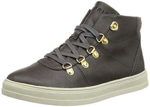ESPRIT Sidney Bootie, Sneaker alta donna, Grigio (Grau (025 brown grey)), 39