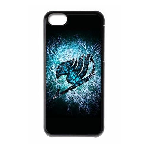 Fairy Tail V7I3Dl iPod Touch 6 Fall Hülle Schwarz V6W1NX Brauch angepasst Telefon-Kasten Hülle (Touch Fälle Ipod Angepasst)
