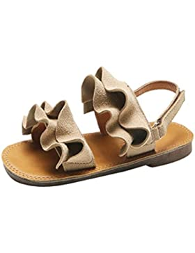 Momola - Sandalias de Vestir de Otra Piel para Niña