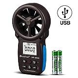 Anémomètre Digital Portable Holdpeak HP-866A Compteur CFM Mesureur De Vitesse Du Vent Mesure La...