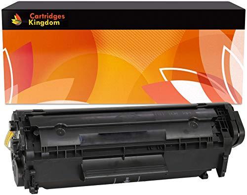 Cartridges Kingdom FX10 Compatible Cartucho de Tóner para Canon I-SENSYS MF4350D MF4330D MF4370DN MF4010 MF4120 MF4140 MF4150 MF4270 MF4100 FAX L95 L100 L120 L140 L160 LASERBASE PC-D440 PC-D450