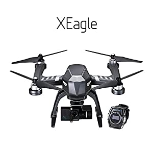 FLYPRO XEagle smart watch Sports UAV with auto follow Hands-Free andobstacle Flying Drone helicopters With 4K Ultra HD Sports Camera by guangdong