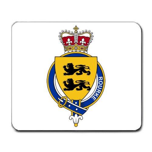 Rourke Irland Familienwappen Wappen Maus Pad (Wappen Irland)