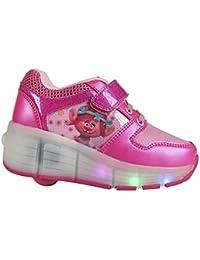 Zapatillas deportivas con ruedas y luz Trolls Poppy- T.30