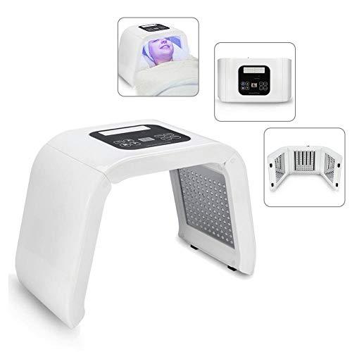 Lampada di bellezza a LED per la cura del viso, dispositivi LED Toner leggeri per il ringiovanimento della pelle del viso, rimozione dell'acne e rughe della pelle