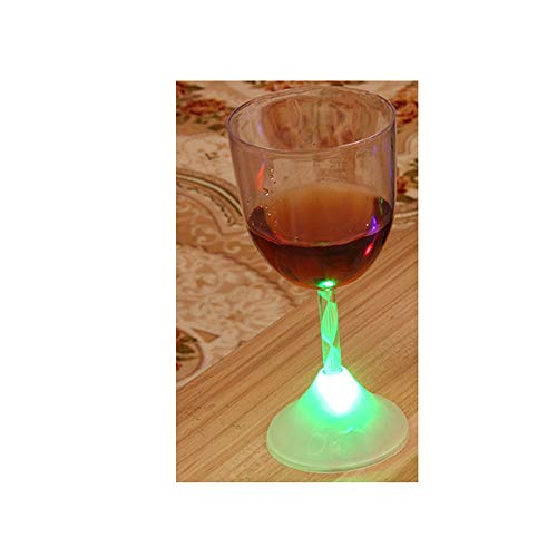 g Cup KTV Induction Colorful LED Cups Meet The Water Bright Bright Water Cup ()