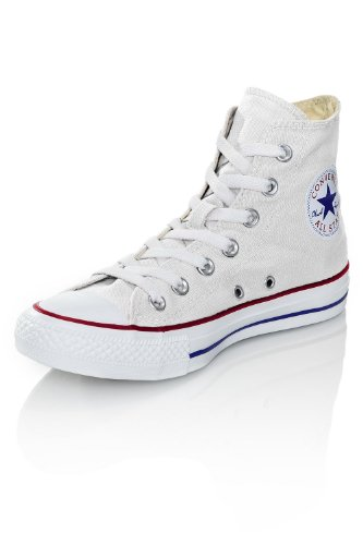 Converse Chuck Taylor All Star Hi, Scarpe da Ginnastica Unisex-Adulto Bianco