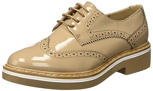 Bata Damen 5218437 Derby-Schuhe Beige
