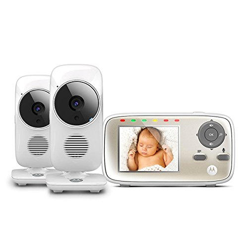 Motorola MBP483 Video Baby Monitor Twin Camera Bundle 41uU7XONShL