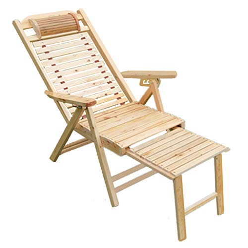 Shongshong sedia regolabile reclinabile reclinabile da giardino in legno sedia pieghevole per la pausa pranzo casa multifunzionale poltrona per il tempo libero prendi una sedia fresca
