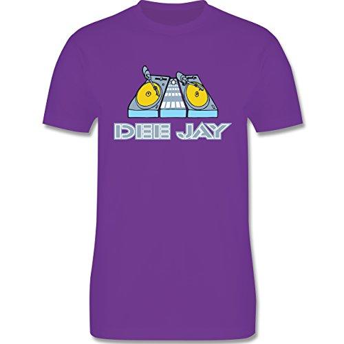 DJ - Discjockey - Discjockey - Herren Premium T-Shirt Lila