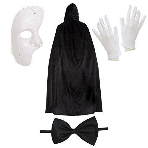 Phantom der Oper Halloween Kostüm Satz (Preiswerte Halloween-kostüme)